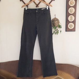 NYDJ • Army Green Straight Leg Jeans